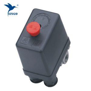 zware luchtcompressor drukschakelaar regelafsluiter 12 bar 4-poorts luchtcompressor schakelt uit