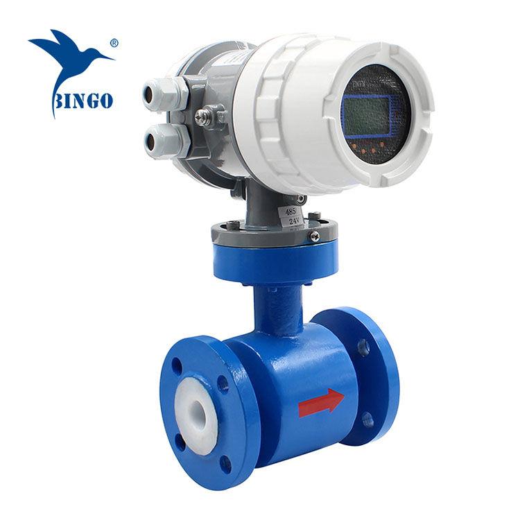 Elektromagnetische debietmeter voor water Elektromagnetische debietmeter voor water