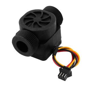 """hall-effect g3 / 4 """"kunststof waterstromingssensor turbinemeter dn20 vloeistofstroomsensoren"""