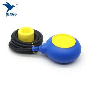 MAC 3 type niveau regelaar in gele en blauwe kleuren kabel vlotterschakelaar