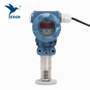 Sanitaire-spoel-membraan-druk-zender met LED-display