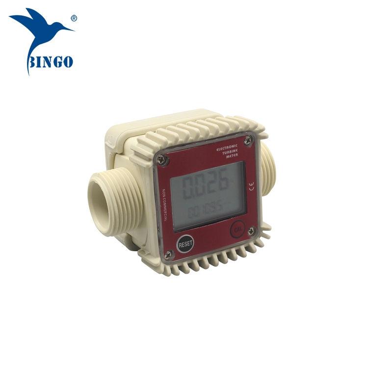 digitale brandstof water turbine flowmeter